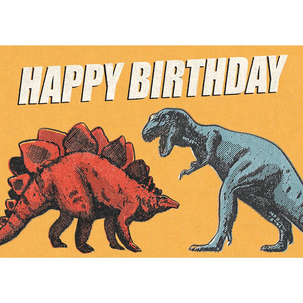 Prehistoric Land Dinosaur Birthday Card | dotcomgiftshop
