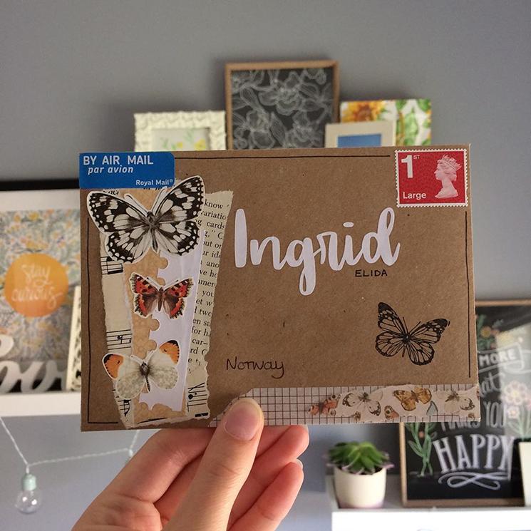 Pen pal envelope by ellas_letters