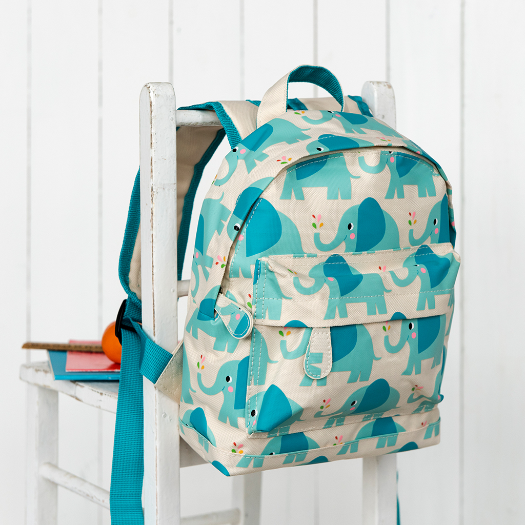 683f3aee52ac Elvis the Elephant design mini backpack