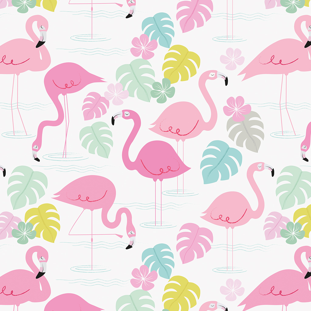 Christmas tree decorations pink - Flamingo Bay Wrapping Paper 5 Sheets Dotcomgiftshop