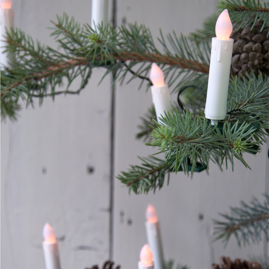 flickering christmas candle led tree lights rex london dotcomgiftshop
