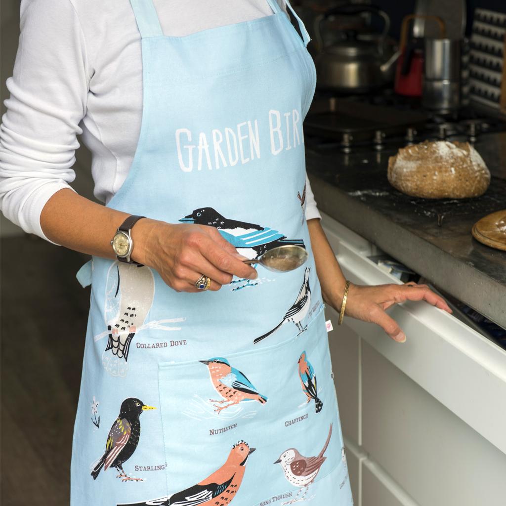 Garden Birds apron