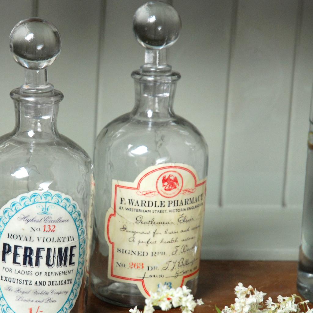 Glass Apothecary Bottle Elixir Rex London Dotcomgiftshop