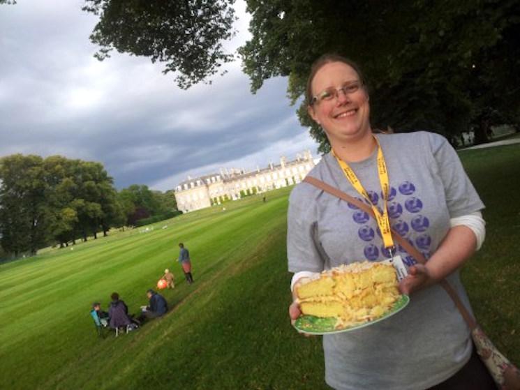 Greenbelt festival cake baker