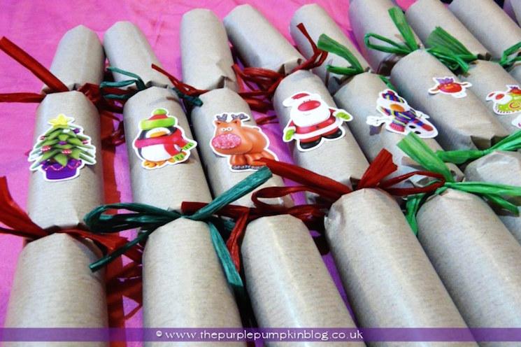 handmade Christams crackers