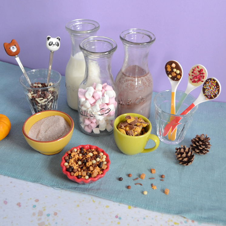 Make your own hot chocolate bar
