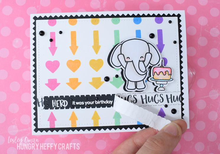 Hidden message card design
