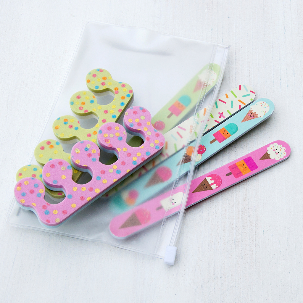 Ice Cream Nail Care Kit | Rex London (dotcomgiftshop)