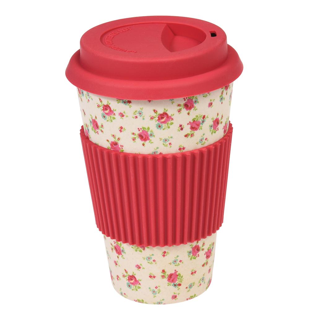 Japanese Coffee Mugs La Petite Rose Bamboo Travel Mug Rex London At