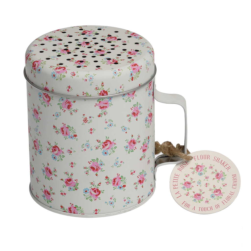 Candles & Tea Lights dotcomgiftshop ROSE SCENTED CANDLE IN A LA PETITE ROSE TIN Home, Furniture & DIY