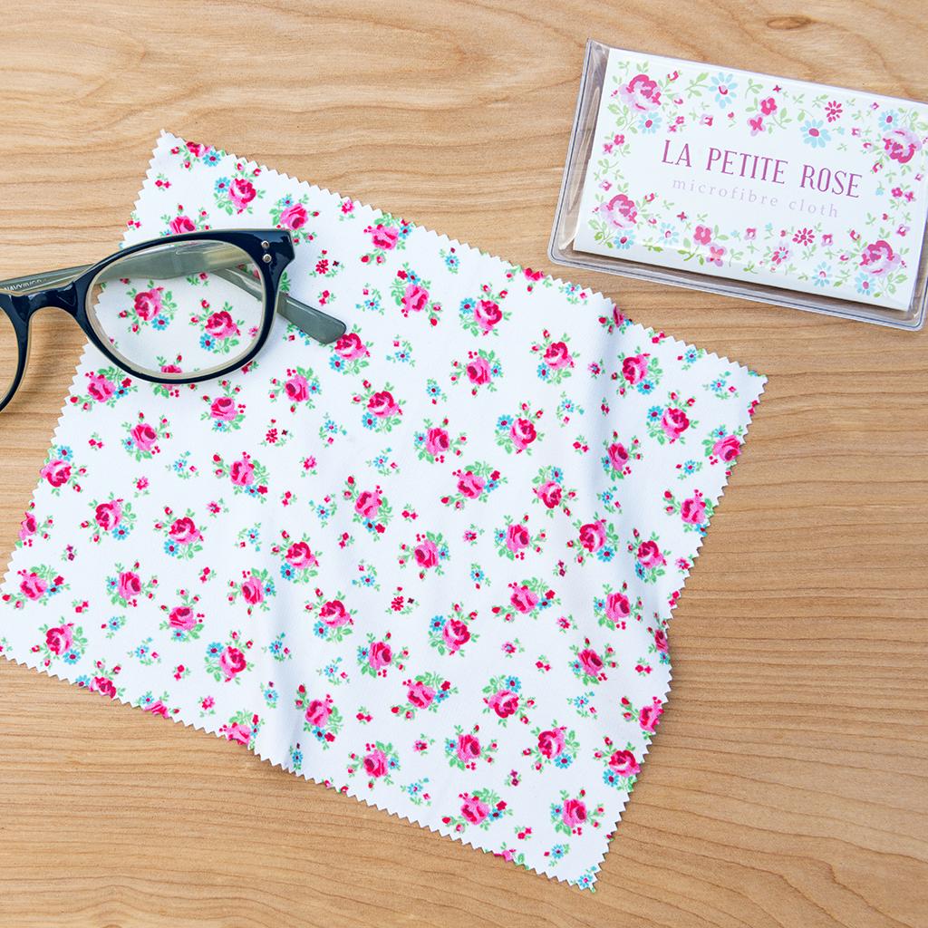 La Petite Rose Glasses Cleaning Cloth Rex London