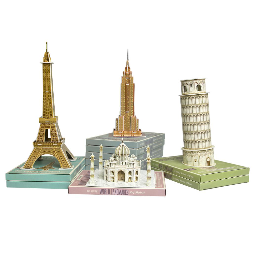 Make Your Own Landmark Eiffel Tower Craft Kit Rex London