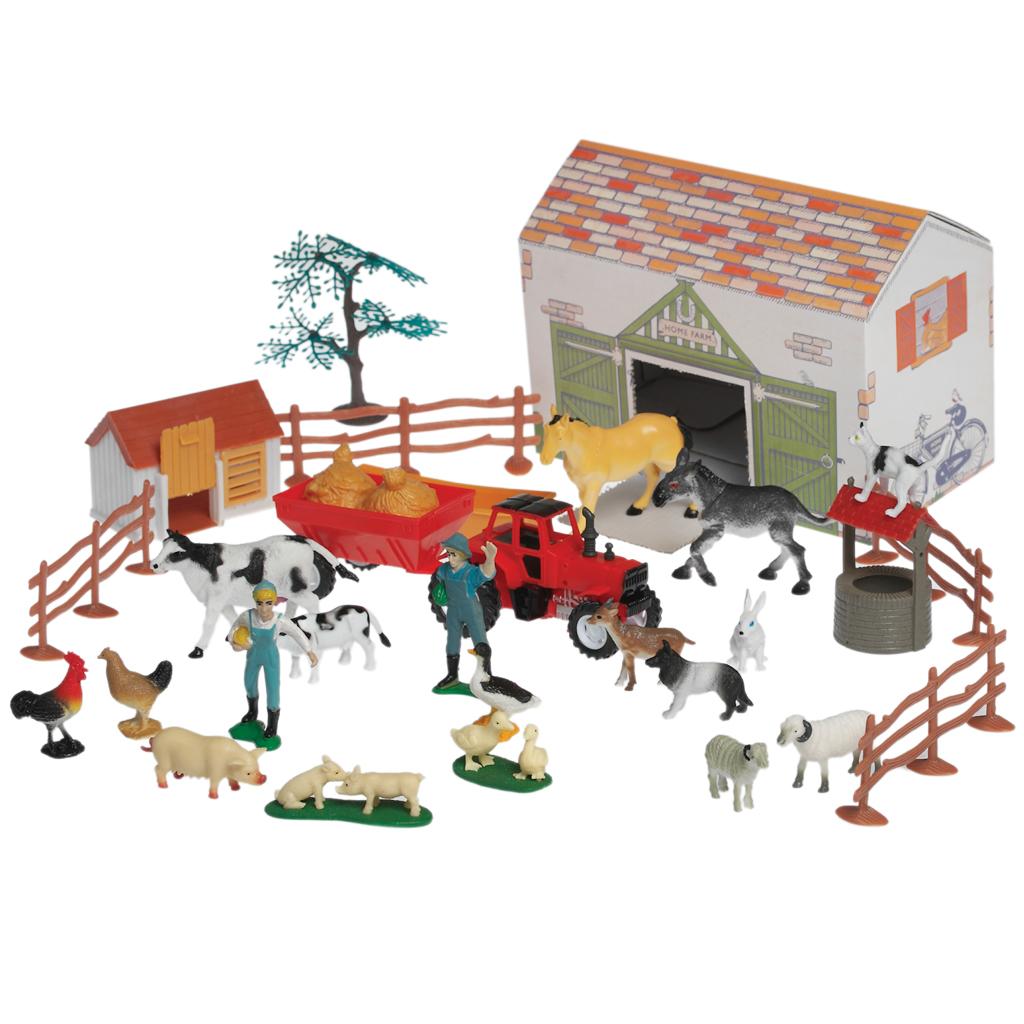 Large Traditional Farmyard Play Set | Rex London (dotcomgiftshop)