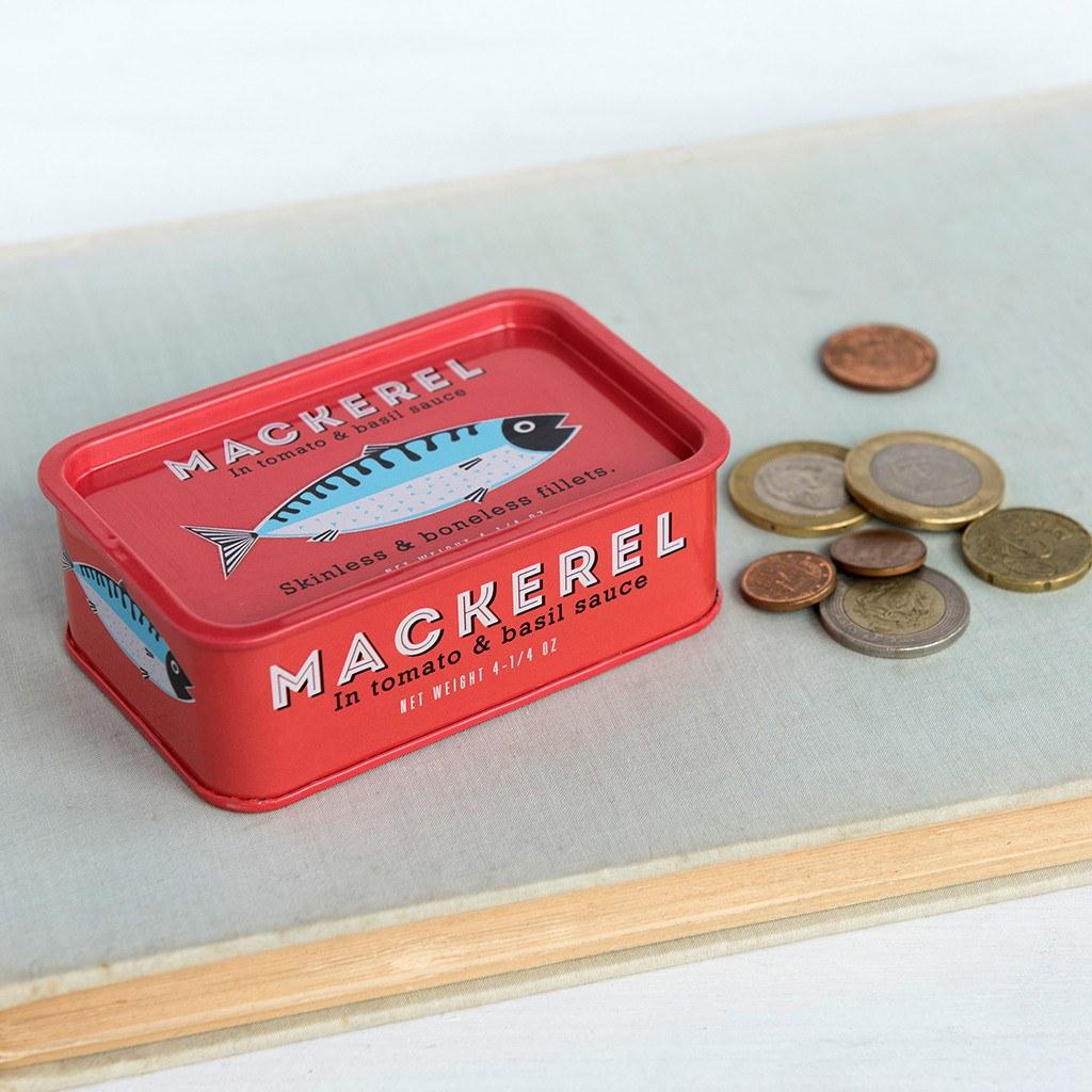 mackerel storage tins