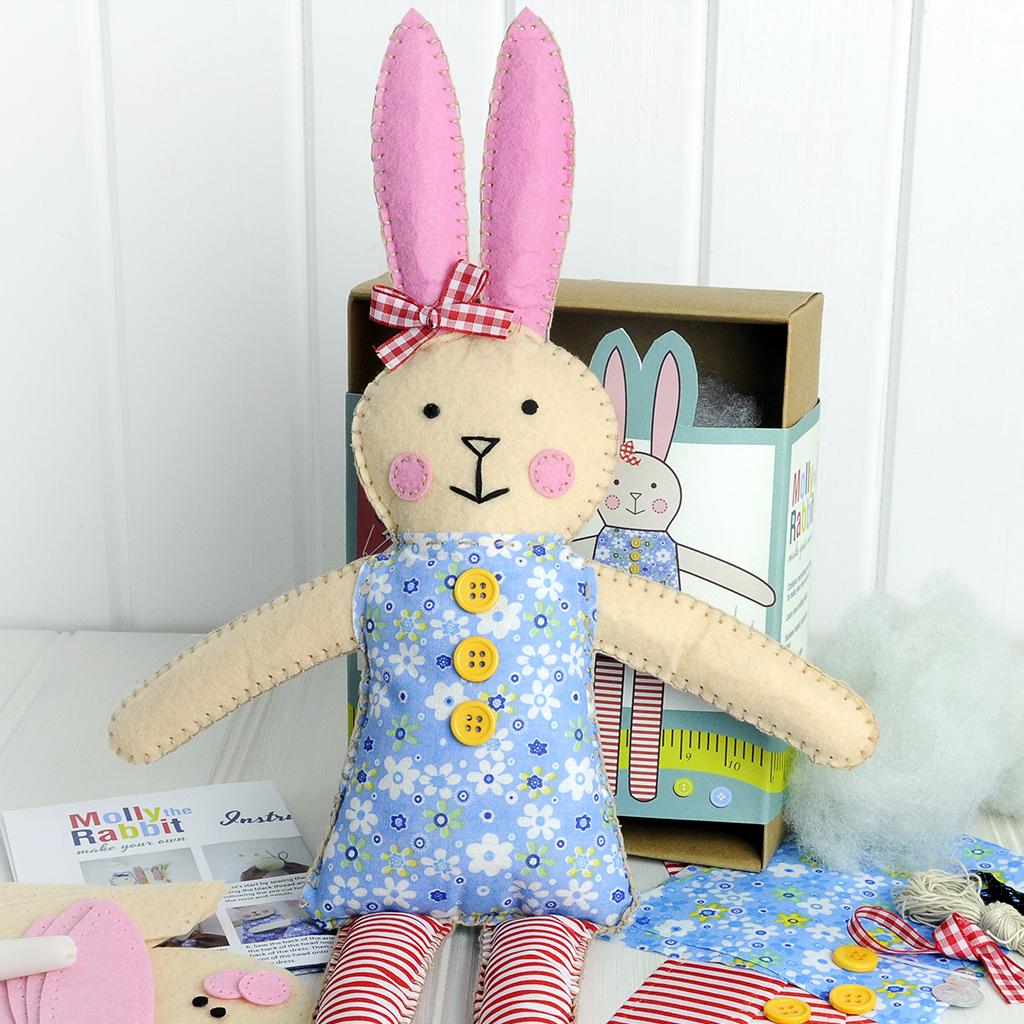 Make Your Own Rabbit Craft Kit Dotcomgiftshop