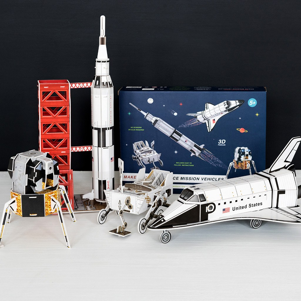 Make your own Space Age mission kit