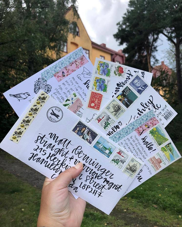Pen pal envelopes by marionbcn