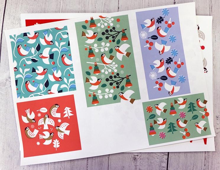 Nordic Christmas colourways