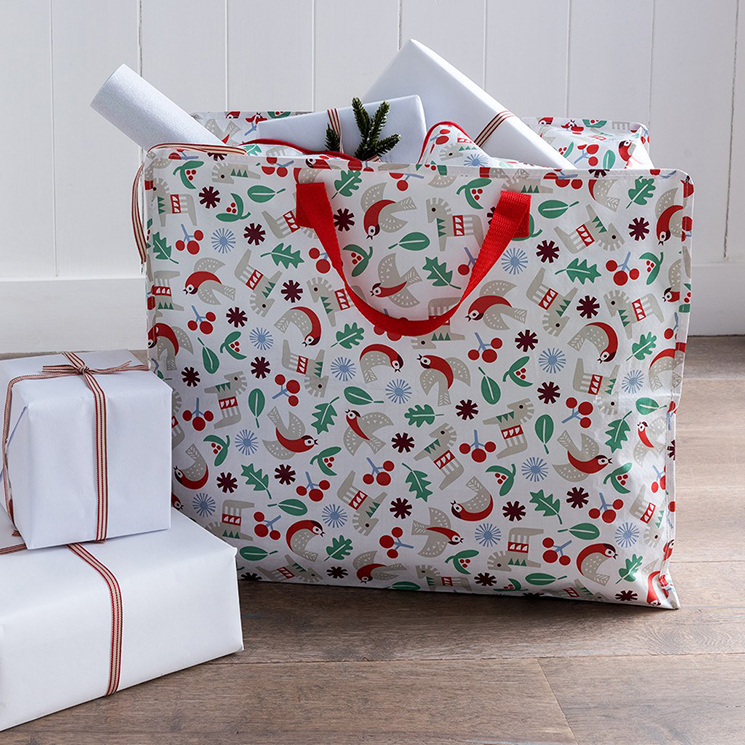 Nordic Christmas jumbo storage bag