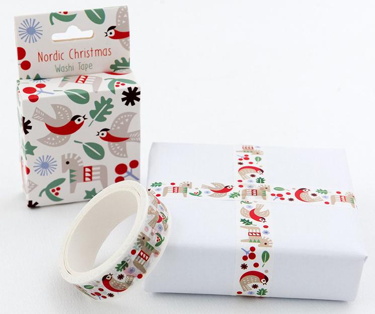 Nordic Christmas washi tape