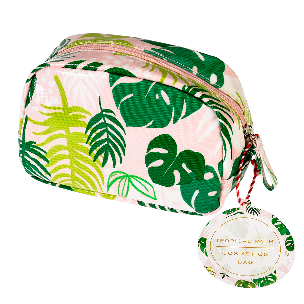 611b9bb55596 Tropical Palm Make Up Bag | Rex London at dotcomgiftshop
