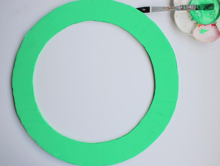 paint base green