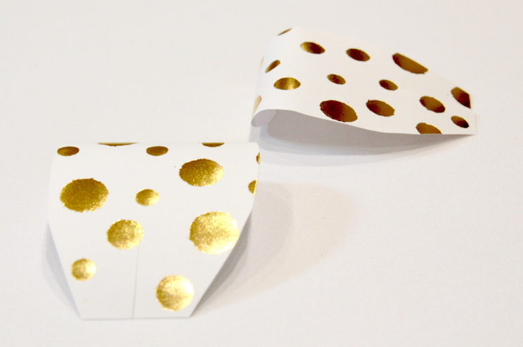 gold confetti petals