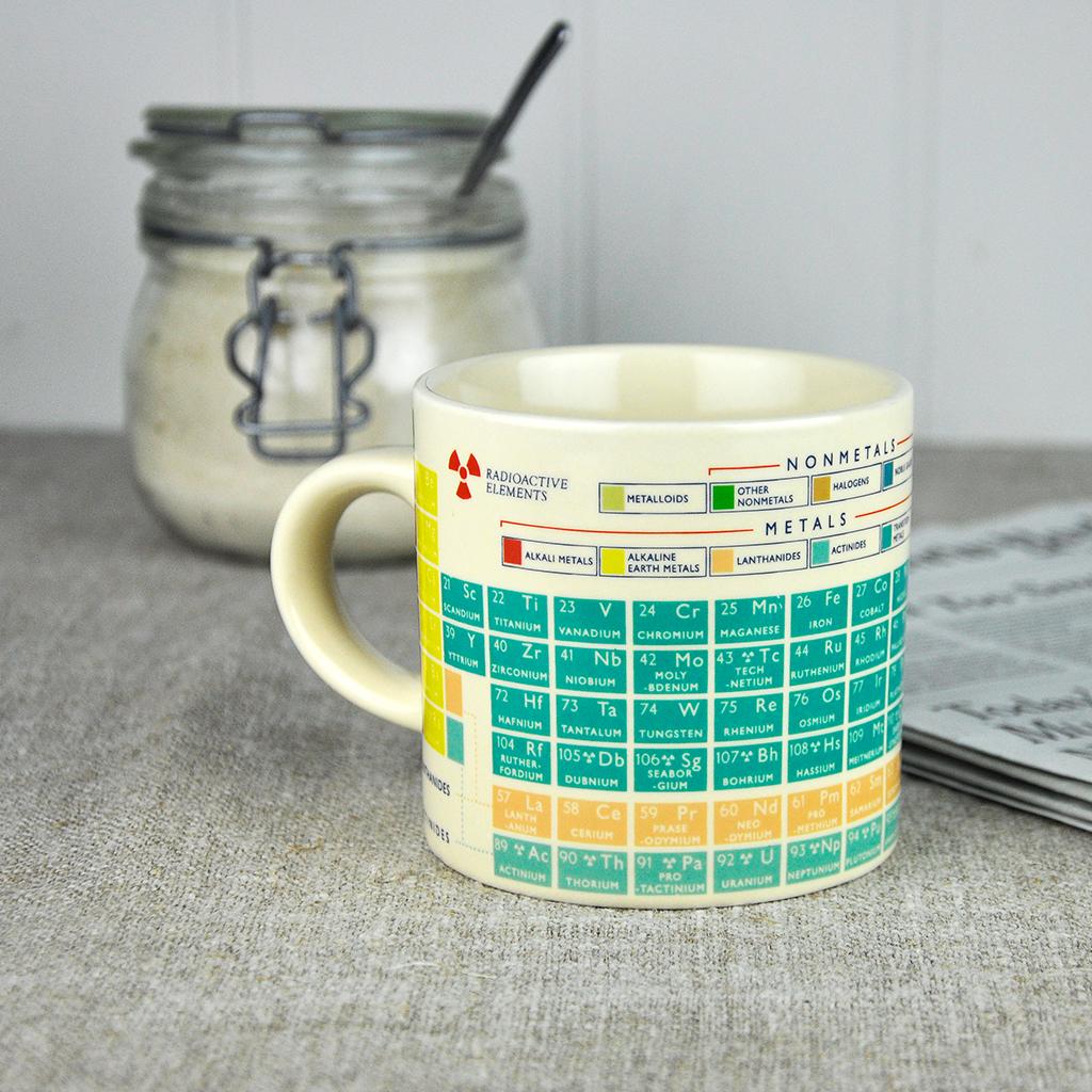 Periodic table mug rex london dotcomgiftshop urtaz Images