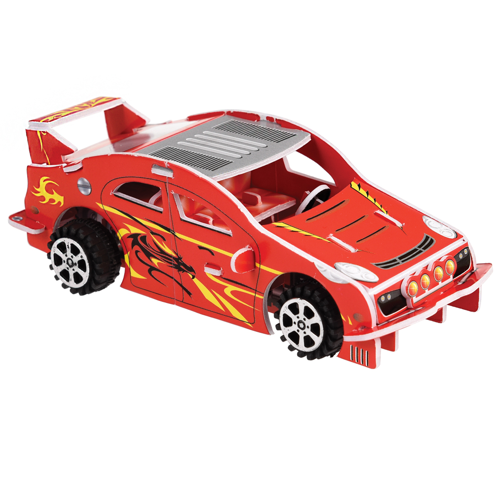 Make Your Own Pull Back Racing Car