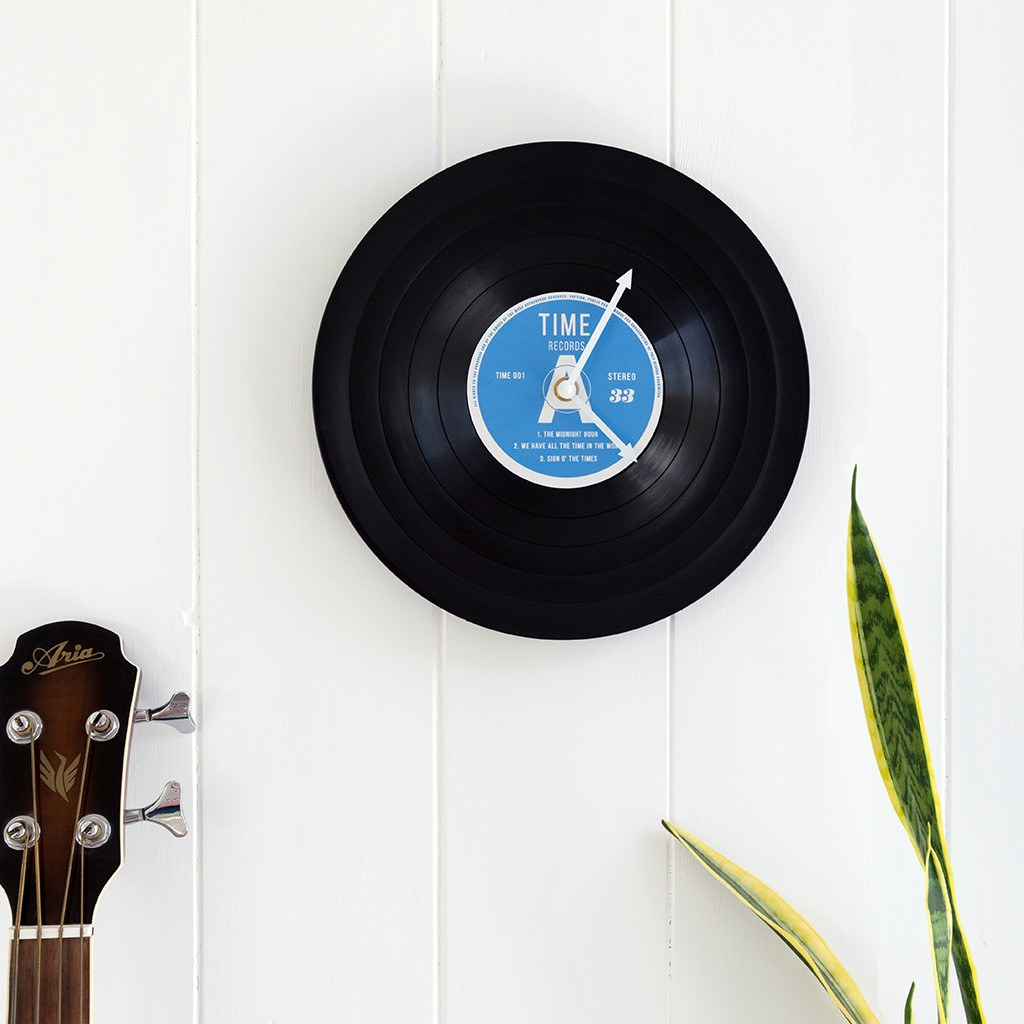 "12"" Record Clock"
