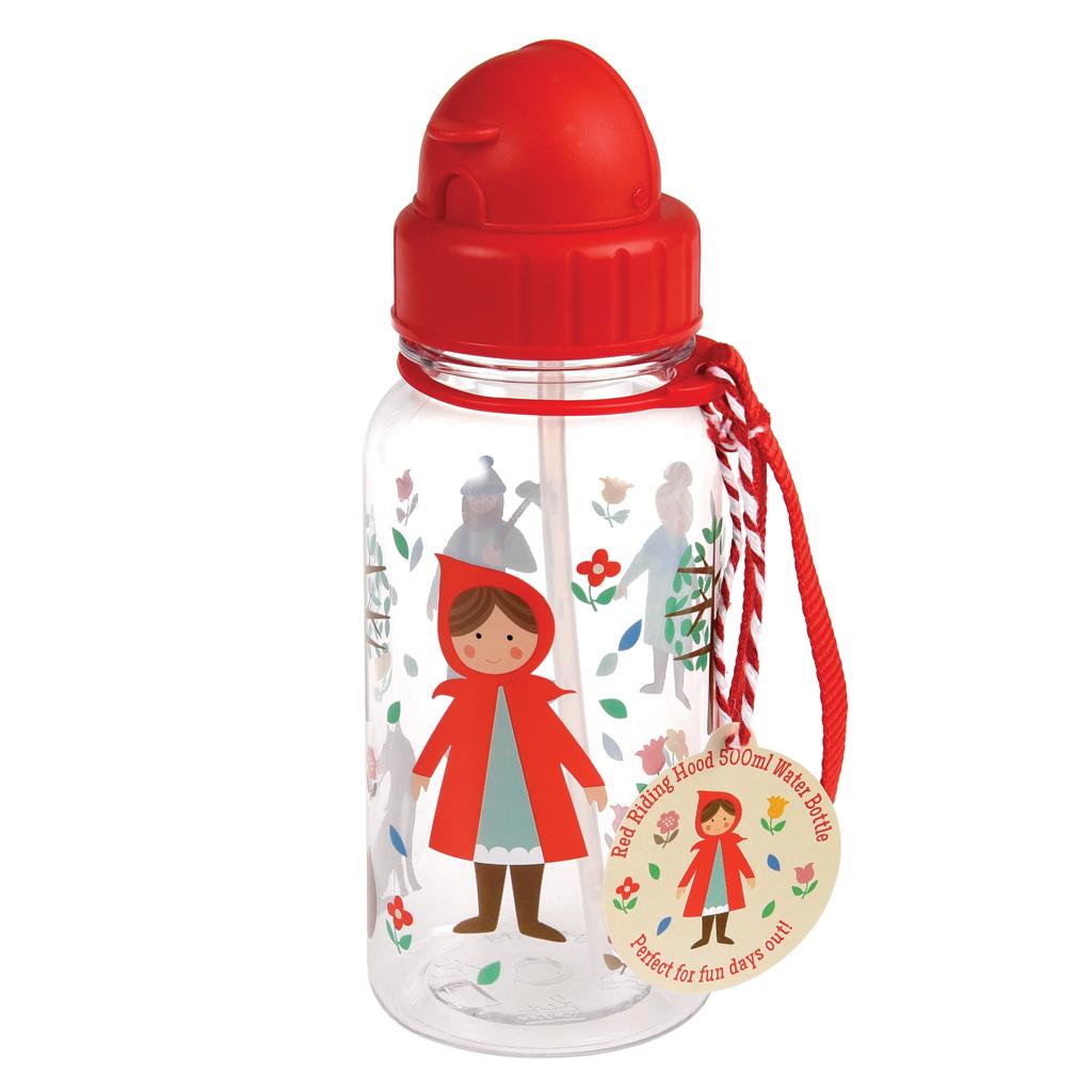 Red Riding Hood Water Bottle Rex London Dotcomgiftshop Thermos Mini Carakter 500 Ml