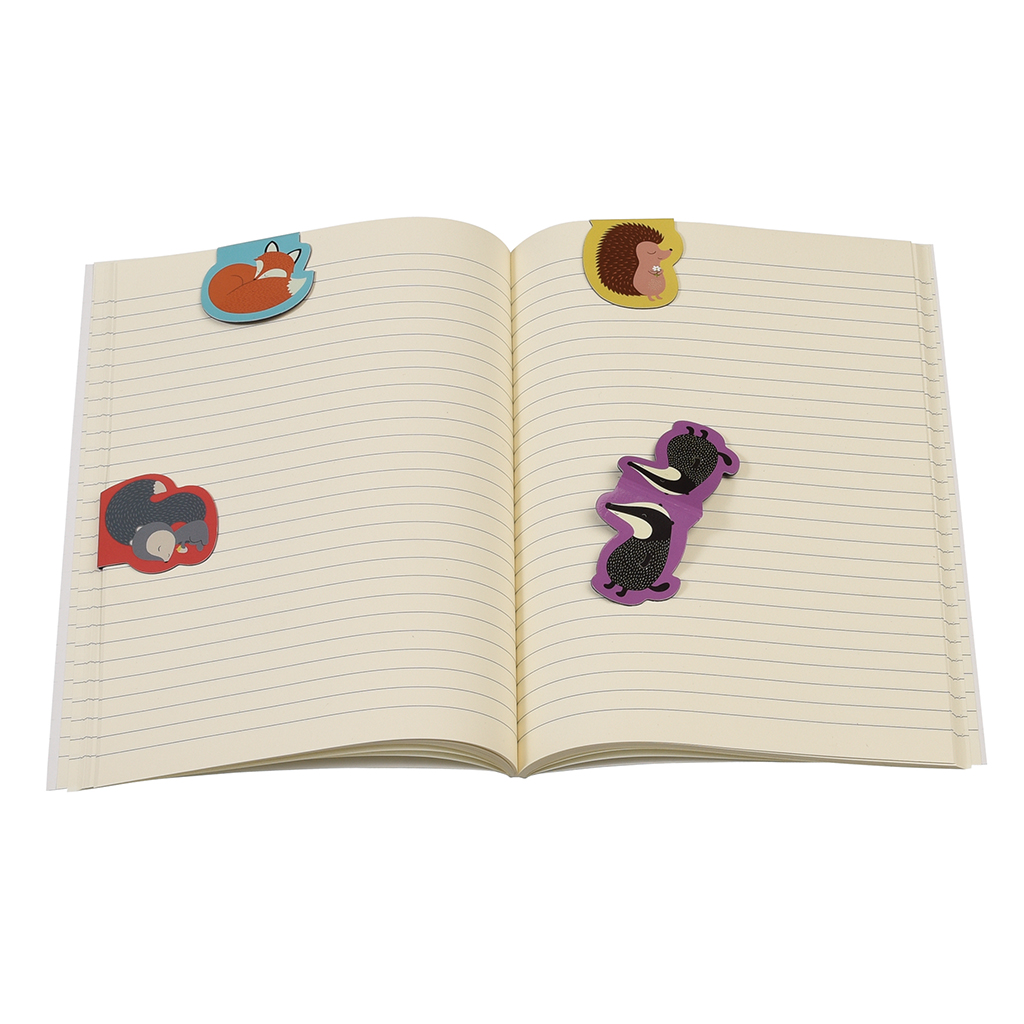 4f3e9c4f27e Rusty And Friends Magnetic Bookmarks | Rex London (dotcomgiftshop)