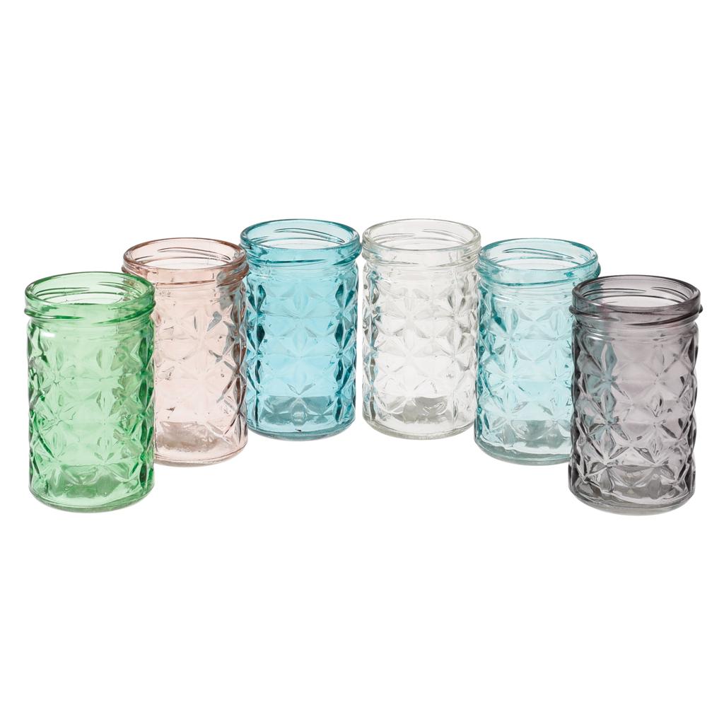 Coloured Glass Tealight Holders Uk