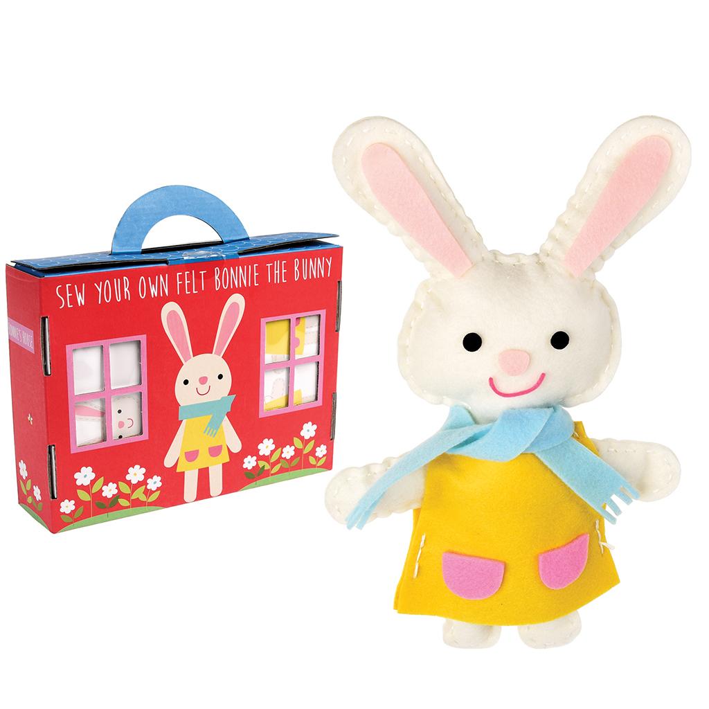 Bonnie The Bunny Felt Kit Rex London Dotcomgiftshop