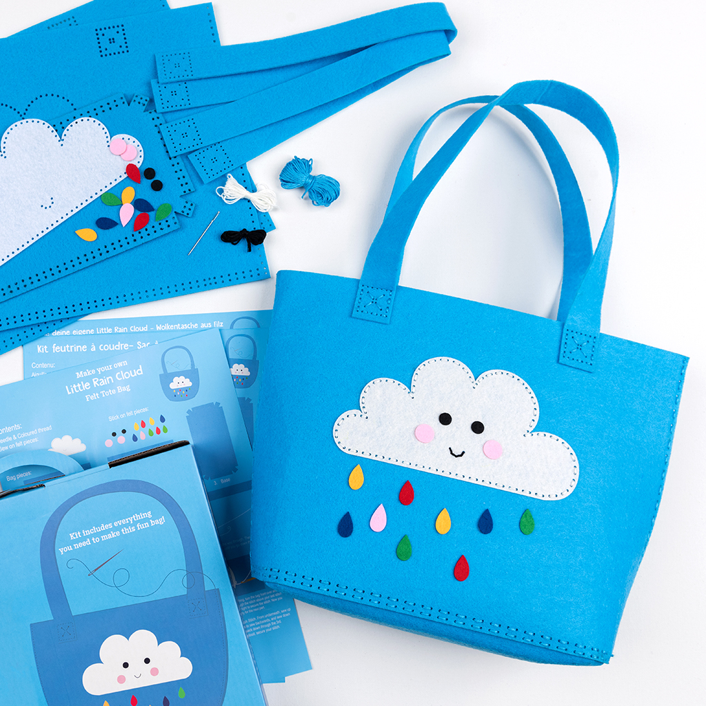 3fef9660719 Sew Your Own Happy Cloud Tote Bag