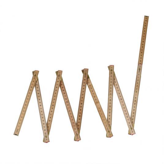 2 Metre Folding Ruler