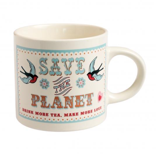 Save The Planet Tea Mug