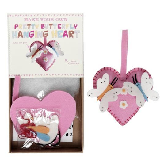 Butterfly Heart Feltcraft Kit