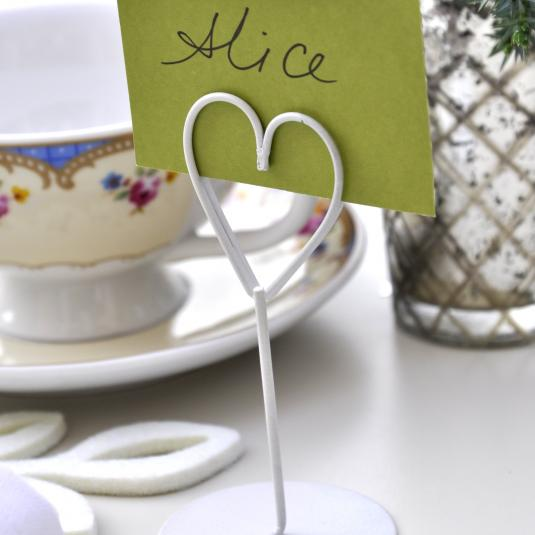 Place Setting Heart