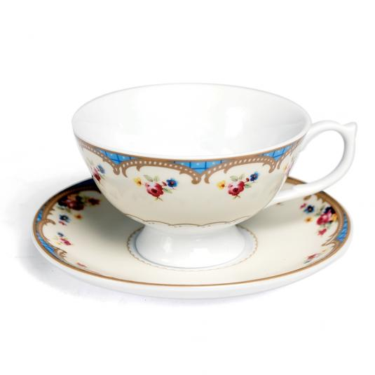 Roses Regency Teacup And Saucer