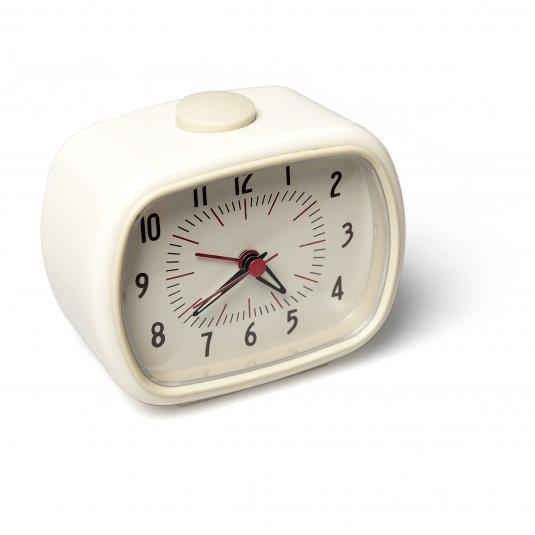 Alarm Clock Bakelite Ivory