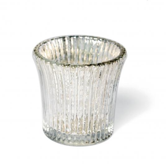 Antique Glass Tealight Holder