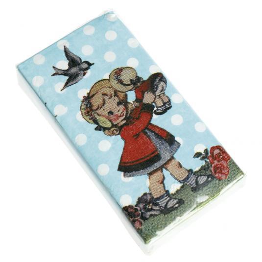 Pack 12 Dolly Girl Tissues