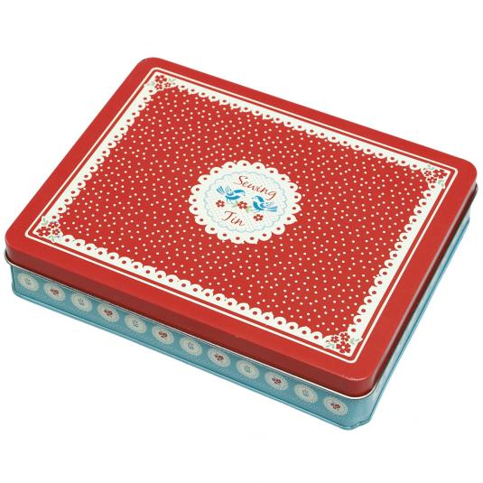 Vintage Doily design Deluxe Sewing Kit