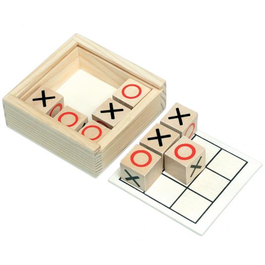 wooden Naughts & Crosses
