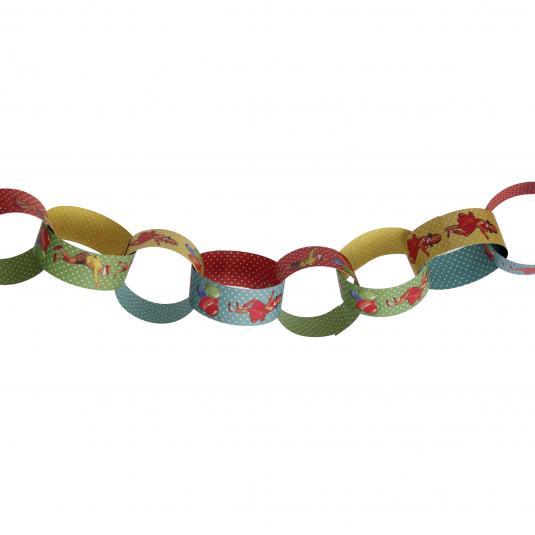 Paper Chain Kit Vintage Party design