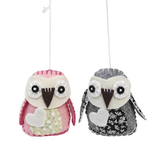 Make Your Own Feltcraft Owls Craft Kit