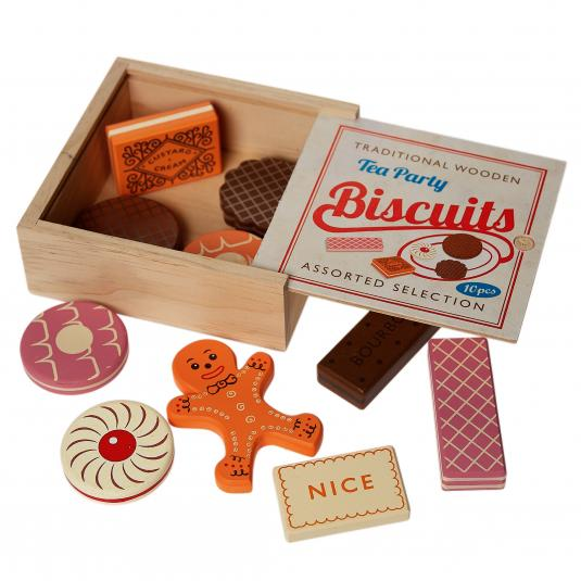 Wooden Tea Party Biscuits Game