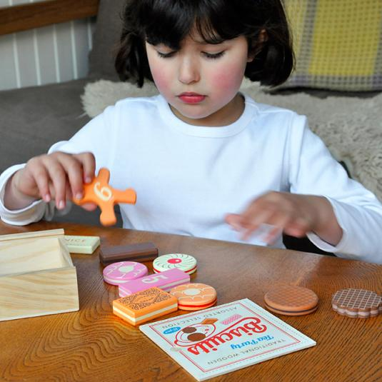 Number counting Tea Party Biscuits Game