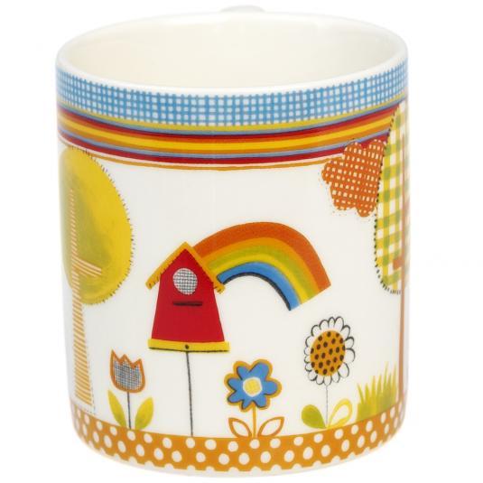 Small Birdy Garden Mug